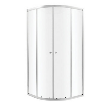 Complete Quadrant Shower Enclosure with Tray Sliding Door