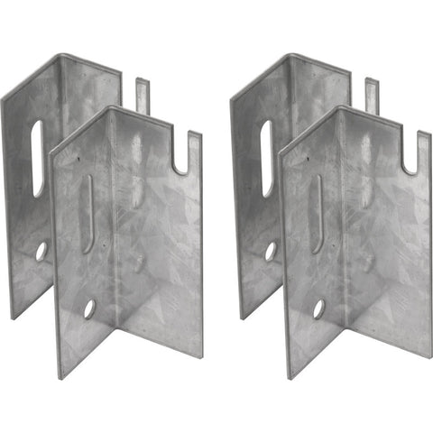 Universal Radiator Wall Brackets (Pack of 4)