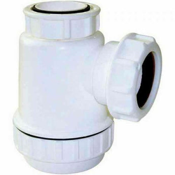 32mm Basin Bottle Trap Sink Waste PVC Plastic Bathroom Fitting Connection