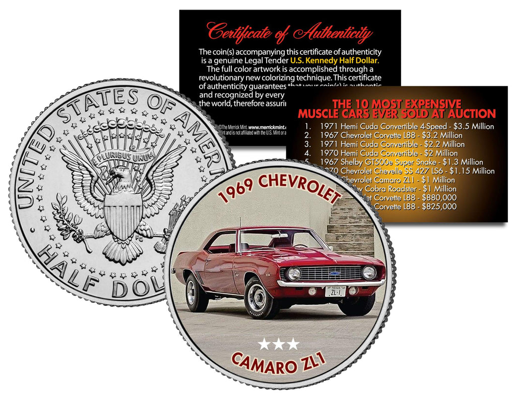 1969 CHEVROLET CAMARO ZL1 - Most Expensive Muscle Cars Ever Sold ...