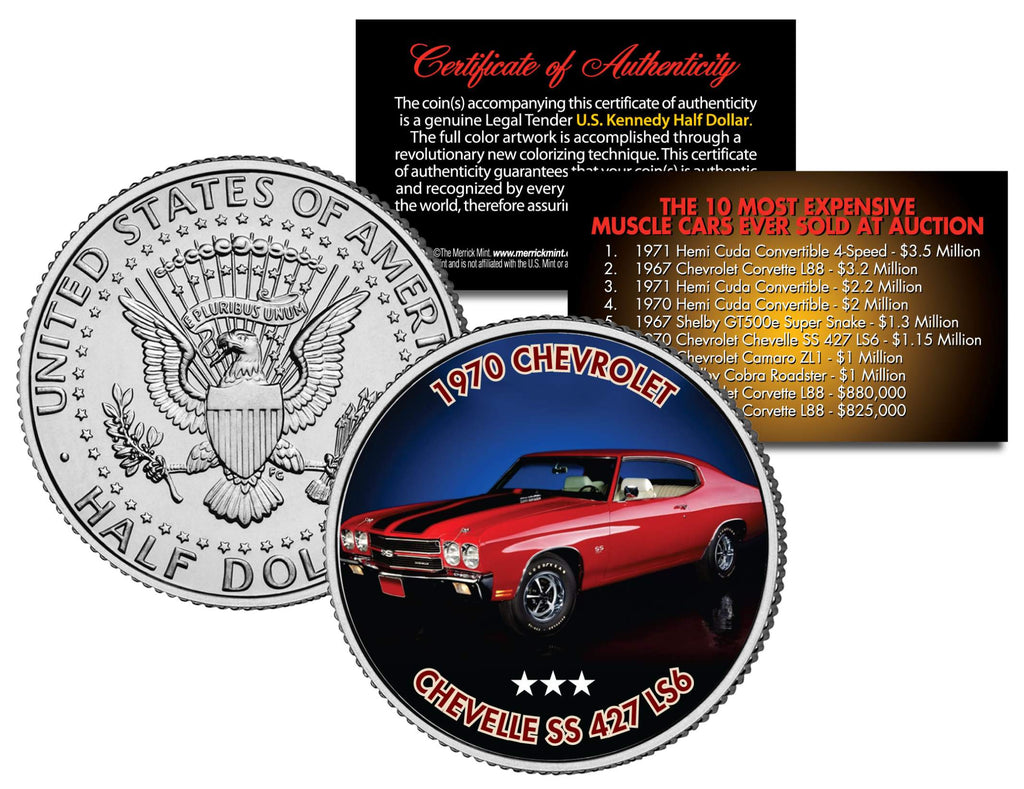 1970 CHEVROLET CHEVELLE SS 427 LS6 - Most Expensive Muscle Cars Ever ...