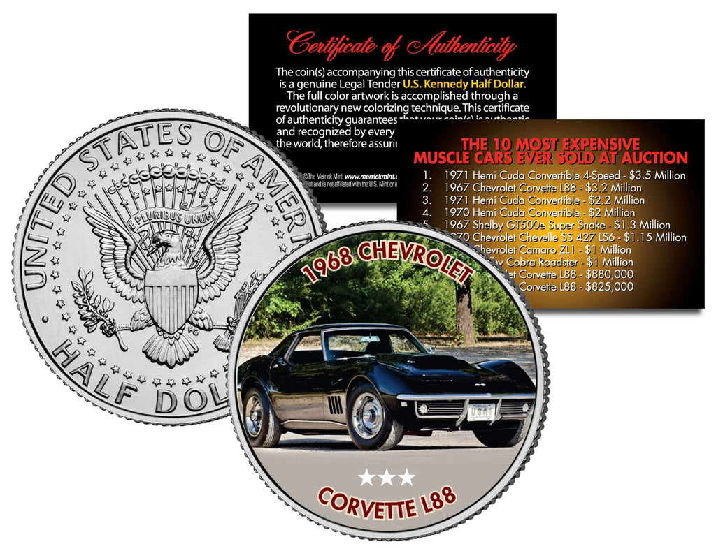 1968 CHEVROLET CORVETTE L88 - Most Expensive Muscle Cars Ever Sold ...