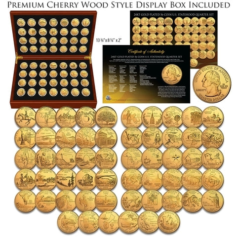 Important Visits to the USA STATE QUARTER 5-COIN SET 2005 POPE JOHN PAUL II