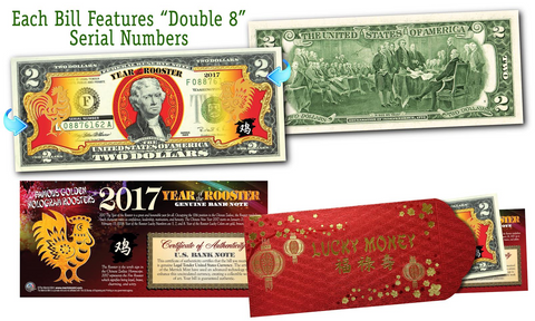 GOLD HOLOGRAM *Stars* Genuine Legal Tender $2 US BILL *MUST SEE* Limited Edition