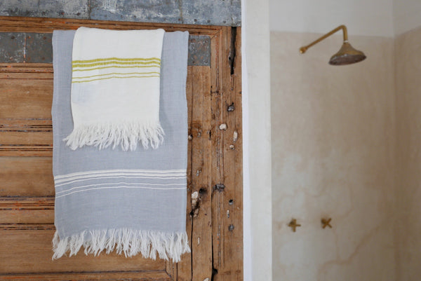 turkish cotton linen bath and beach towels