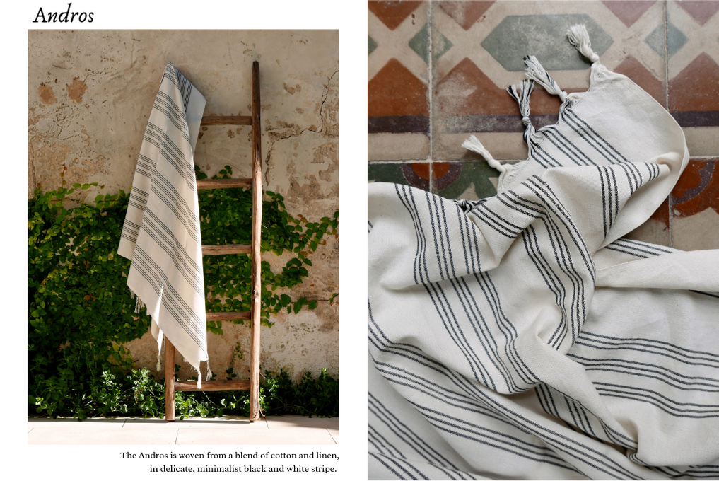 Andros linen towel