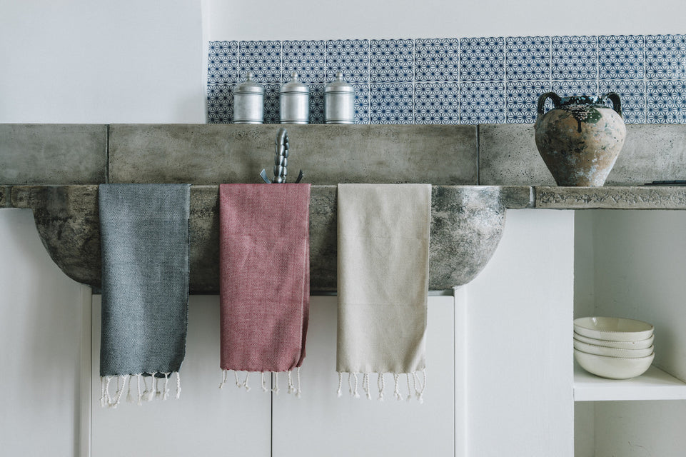 turkish cotton kitchen bath hand and tea towels