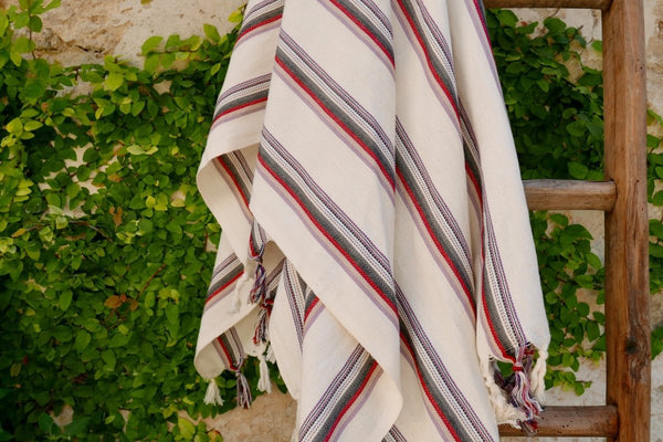 Turkish cotton beach and bath towel pestemal