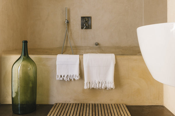 Turkish cotton bath kitchen hand towel