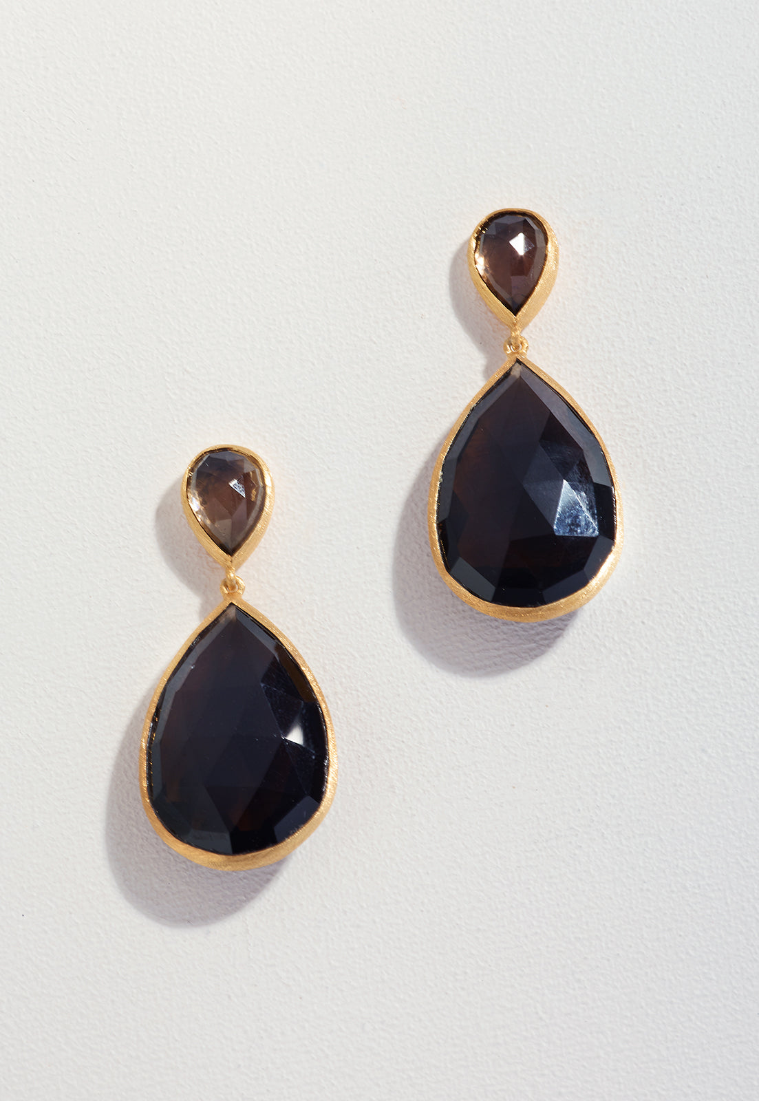 Smokey Quartz & black onyx __000000