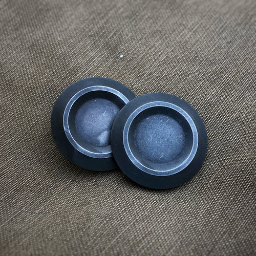 Axiom Button Set - SS Black Oxide Finish