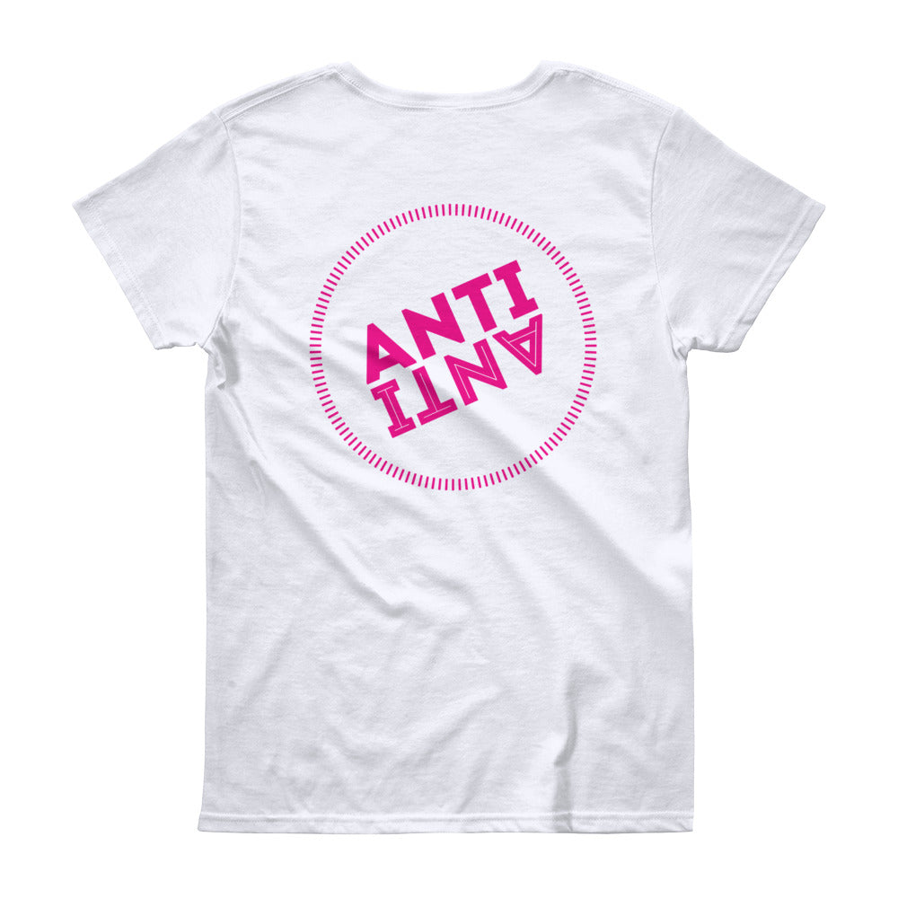 AntiAnti Women's short sleeve t-shirt - antianti