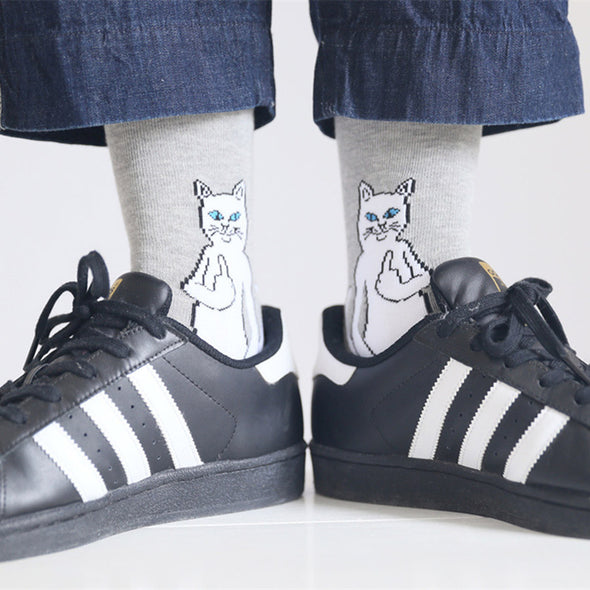 Rude Cat Socks - antianti