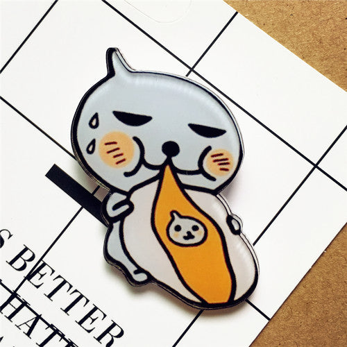 1 x Acrylic Brooch (Cartoon) - antianti