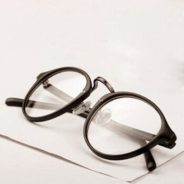 Unisex Retro Glasses - Clear Lens - antianti