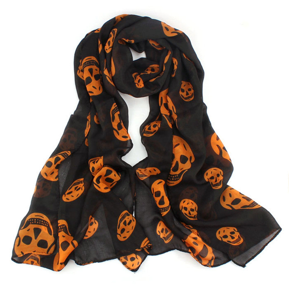 Big Skull Scarf - antianti