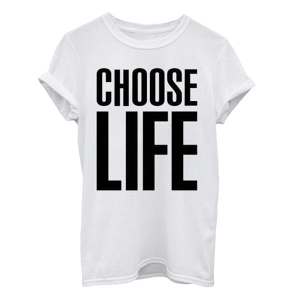 Choose Life Tshirt - antianti