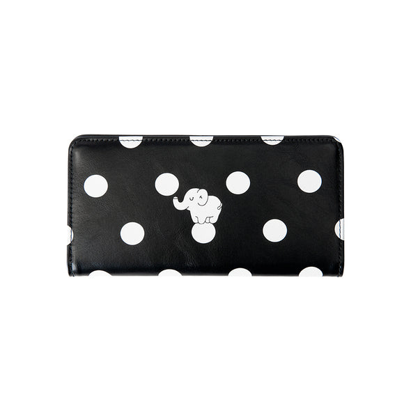 PU long wallet for women, animal print - antianti