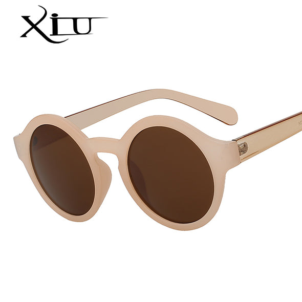 Round Circle Sunglasses Retro Vintage - antianti