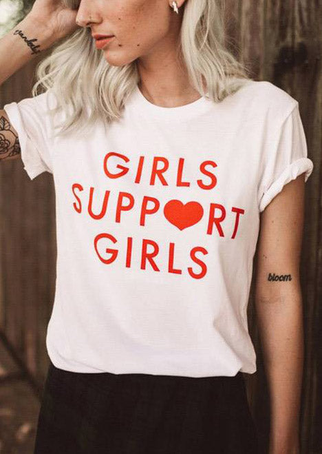 girls support girls T-shirt - antianti