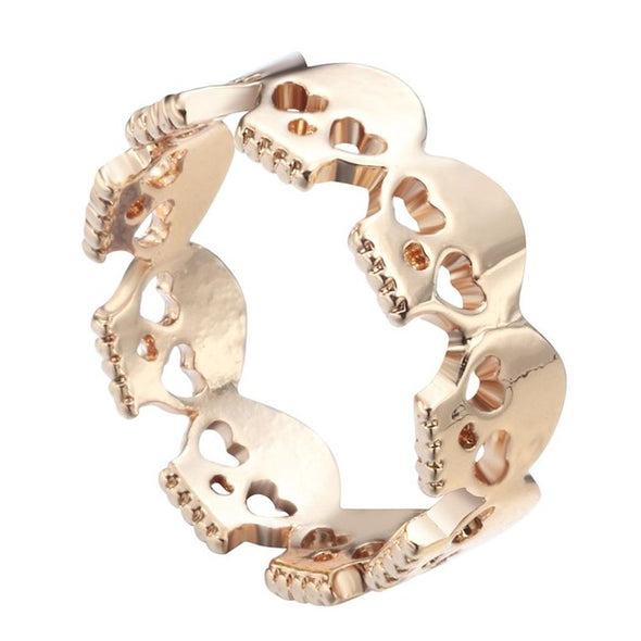 Skull Zinc Alloy Ring - antianti