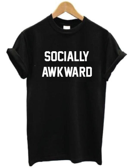 Socially Awkward - T shirt - antianti