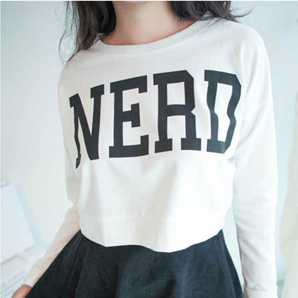 NERD Crop Top - antianti