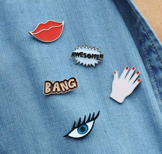 Bang bang Brooch pins - antianti