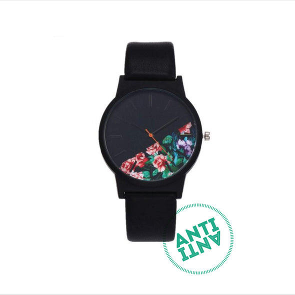 Floral Pattern Casual Quartz Watch Women - antianti
