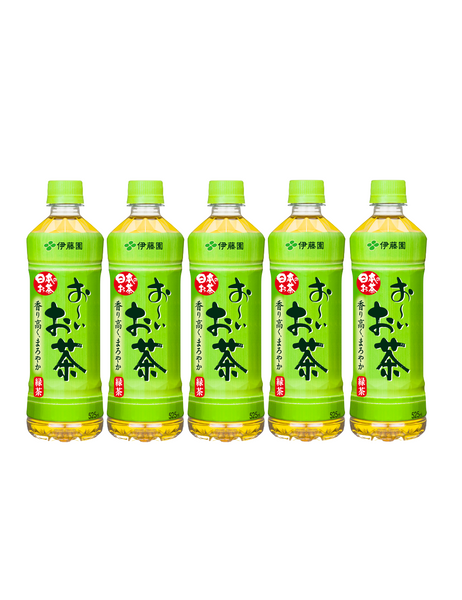 JAPANESE GREEN TEA BOTTLE OI OCHA 500ml x 5 bottles おーいお茶 ペットボトル 500ml 5本セット