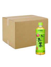 JAPANESE GREEN TEA 24BOTTLES OI OCHA 500ml おーいお茶 ペットボトル 500ml 24本