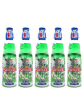 Japanese Ramune 200ml 5 Bottles Melon ラムネ 200ml メロン味 5本セット