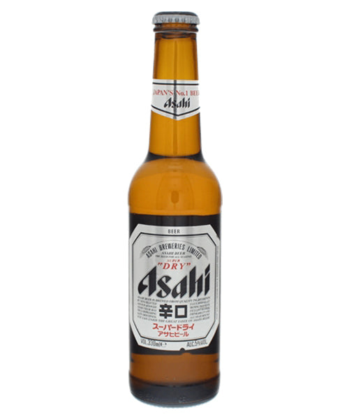 SUPER DRY PREMIUM LAGER BEER BOTTLE スーパードライ 瓶 330ml