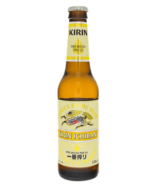 ICHIBAN LAGER BEER BOTTLE  一番搾り 瓶 330ml