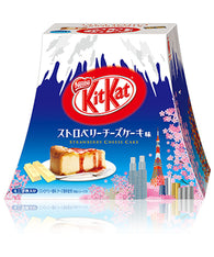 Special Edition Mount Fuji Strawberry Cheesecake Kit Kat