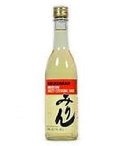 MANJO HON MIRIN SWEET COOKING SAKE  マンジョウ本みりん  375ml