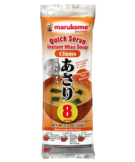 MARUKOME QUICK SERVE INSTANT MISO SOUP WITH CLAMS