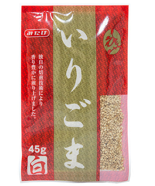 ROASTED WHITE SESAME SEEDS  いりごま 45 g