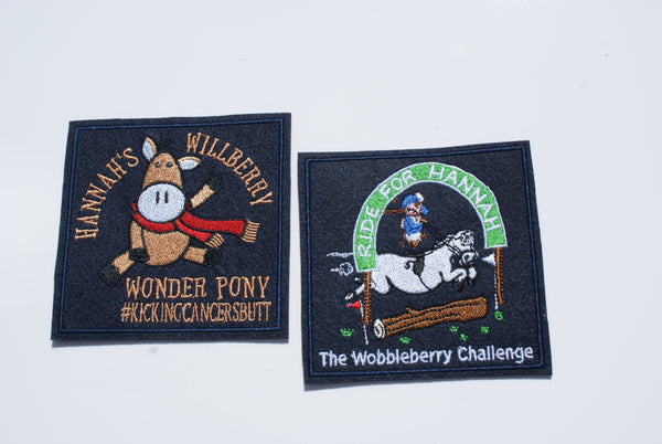 Willberry & Wobbleberry Badge Set - Blue - Small