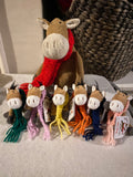 Woollen Scarves For Berry Pony KEY RINGS
