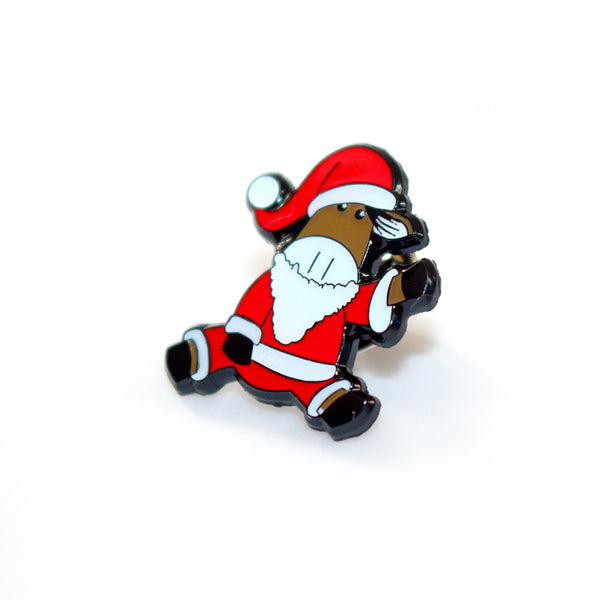 Willberry Santa Pin Badge