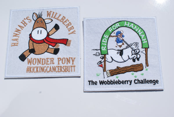 Willberry & Wobbleberry Badge Set - White - Large