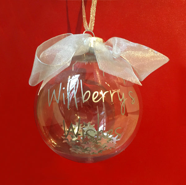 'Willberry's Wishes' Christmas Bauble