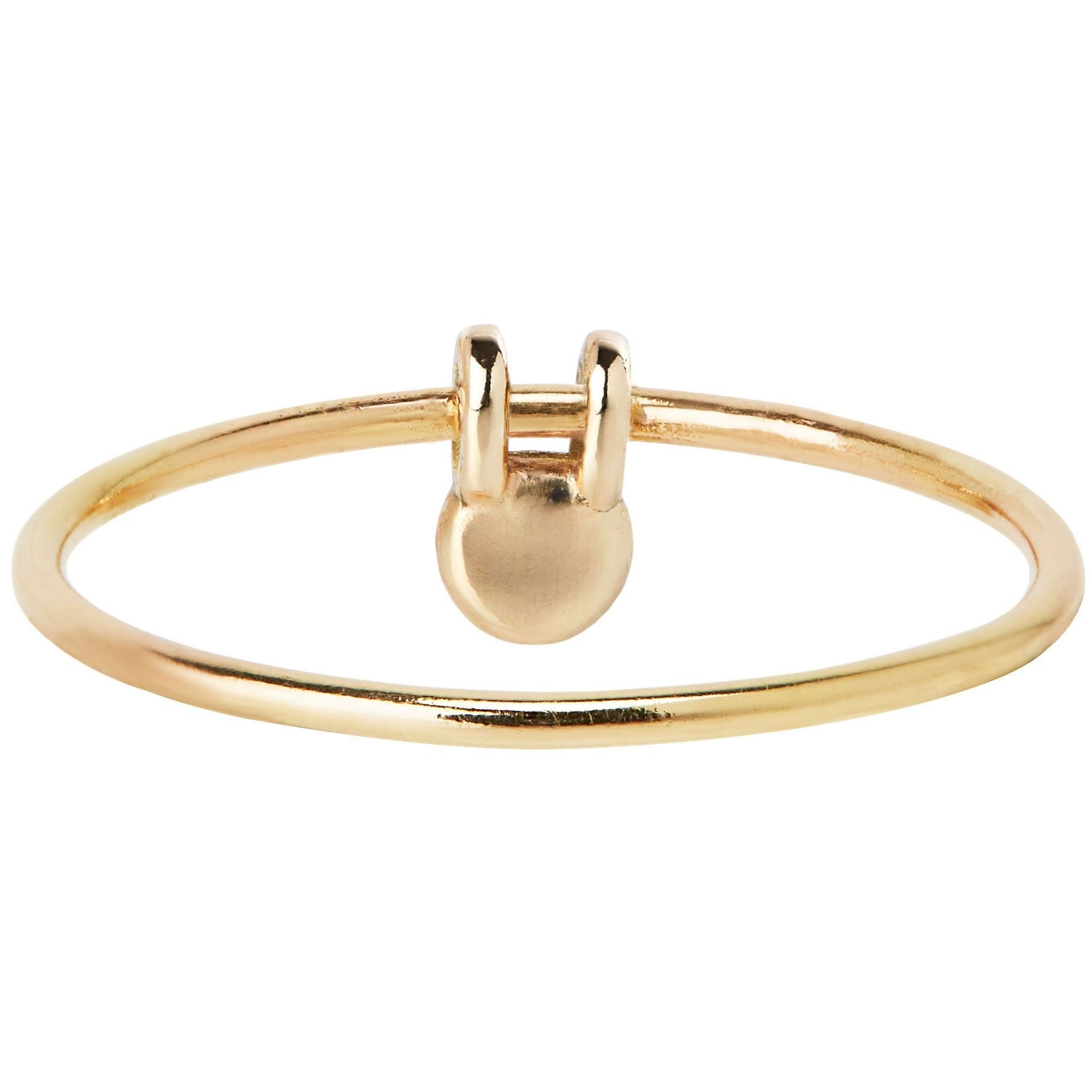 LUCKY RABBIT RING - 14K YELLOW GOLD