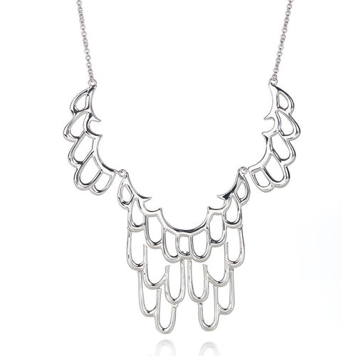 SIREN NECKLACE - SILVER
