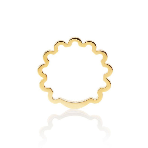 SMALL PERM-TASTIC RING - GOLD