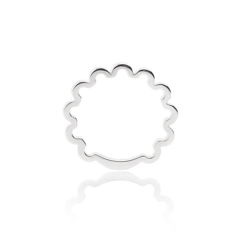 SMALL PERM-TASTIC RING - SILVER