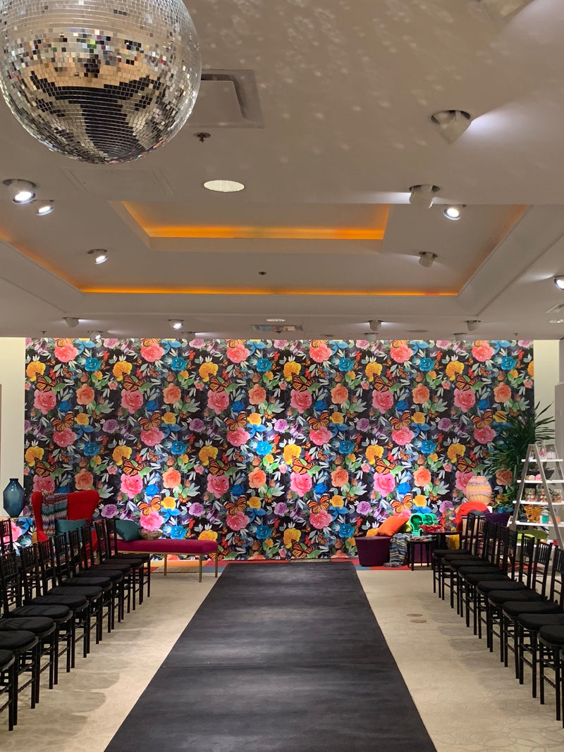 Neiman Marcus Houston Galleria 50th Anniversary Commemorative Wallpaper