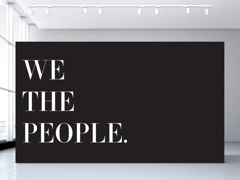 We The People. Wall Mural