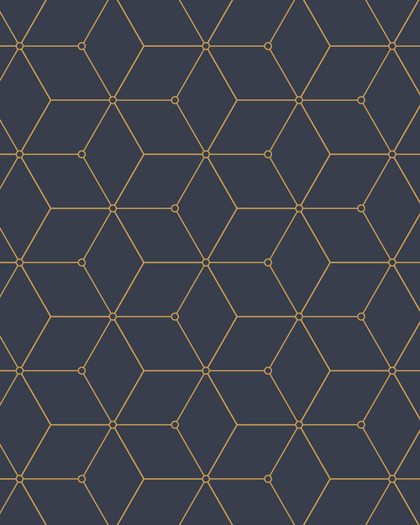 Geo Hex Wallpaper